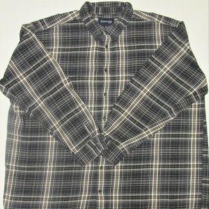 St.John's Bay Men's Cotton Flannel Shirt Size 3XL